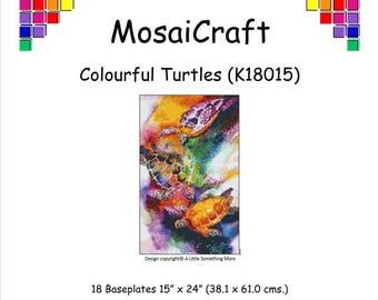 MosaiCraft Pixel Craft Mosaic Art Kit /'Colourful Elephant/' Pixelhobby