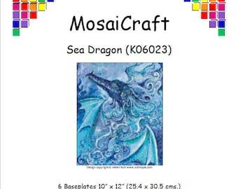 "Mosaicraft pixel Craft MOSAICO KIT /""Rainbow Dragon/"" pixelhobby"