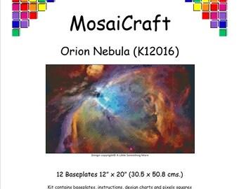 MosaiCraft Pixel Craft Mosaic Art Kit /'Seahorse/' Pixelhobby