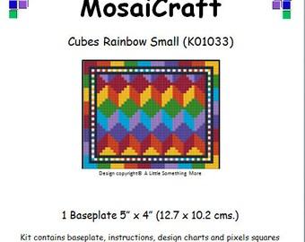 MosaiCraft Pixel Craft Mosaic Art Kit /'Rainbow Reindeer/' Pixelhobby