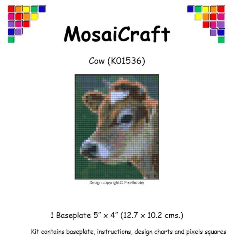MosaiCraft Pixel Craft Art Mosaic Kit /'Tree in Autumn/' Pixelhobby