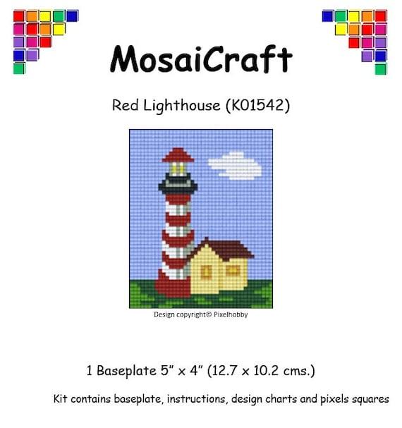 MosaiCraft Pixel Craft Mosaic Art Kit /'Sailboat/' Pixelhobby