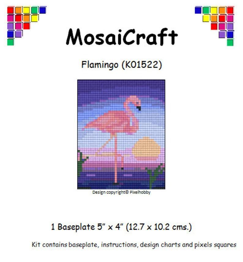 MosaiCraft Pixel Craft Mosaic Art Kit /'Flower Series B/' Pixelhobby
