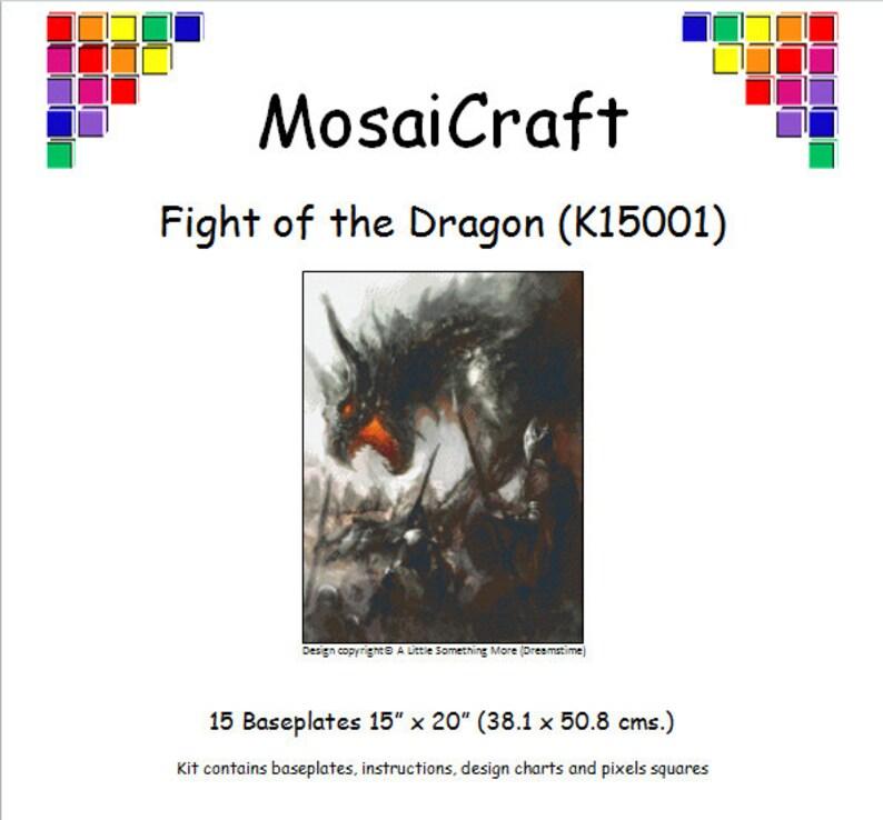 "Mosaicraft pixel Craft MOSAICO ART KIT /""PARASOLE/"" pixelhobby"