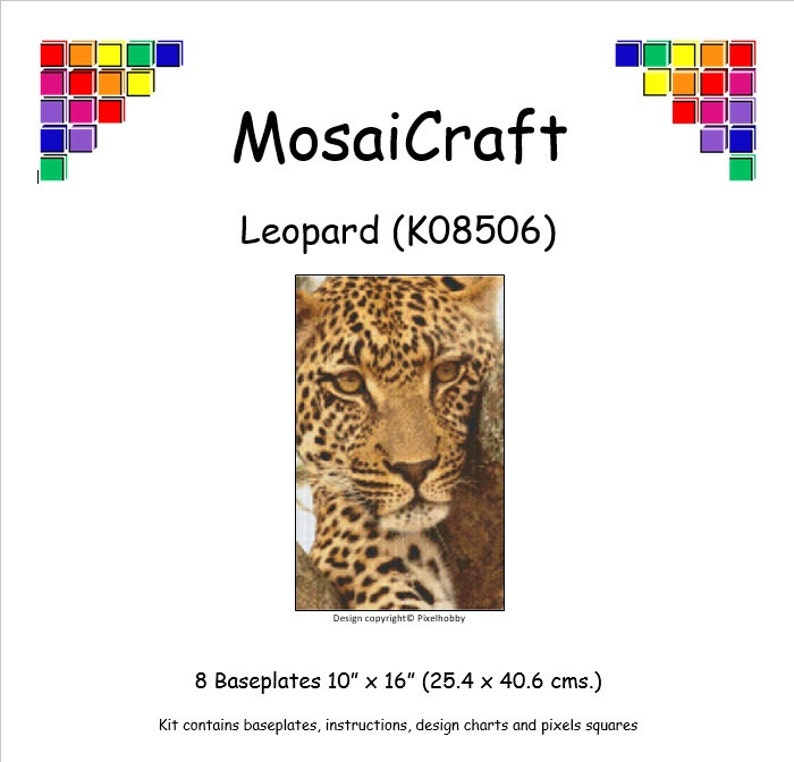 "Mosaicraft Pixel Craft Art Mosaïque Kit /""Salvino /'pixelhobby"