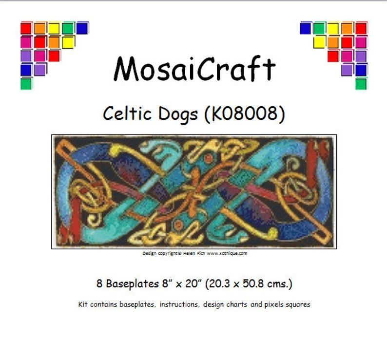 MosaiCraft Pixel Craft Mosaic Art Kit /'Westie/' Pixelhobby