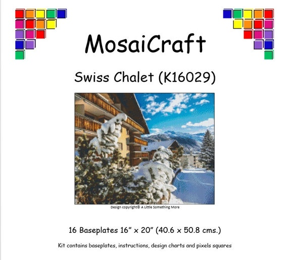 MosaiCraft Pixel Craft Mosaic Art Kit /'Starry Night/' Pixelhobby