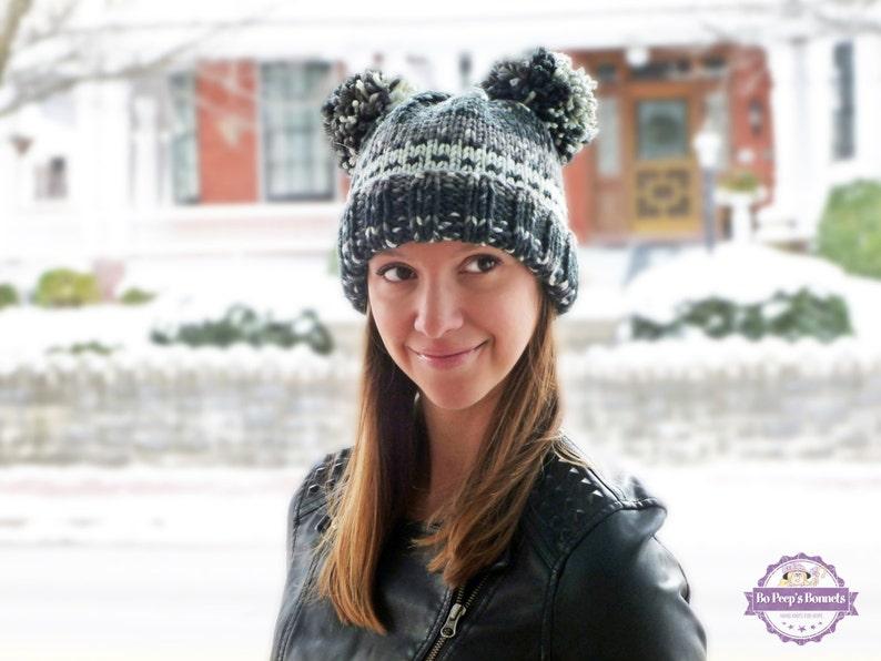 db71c1a7e86 Bear Hat Animal Ears Hat Bear Beanie Bear Ears Hat Knitted
