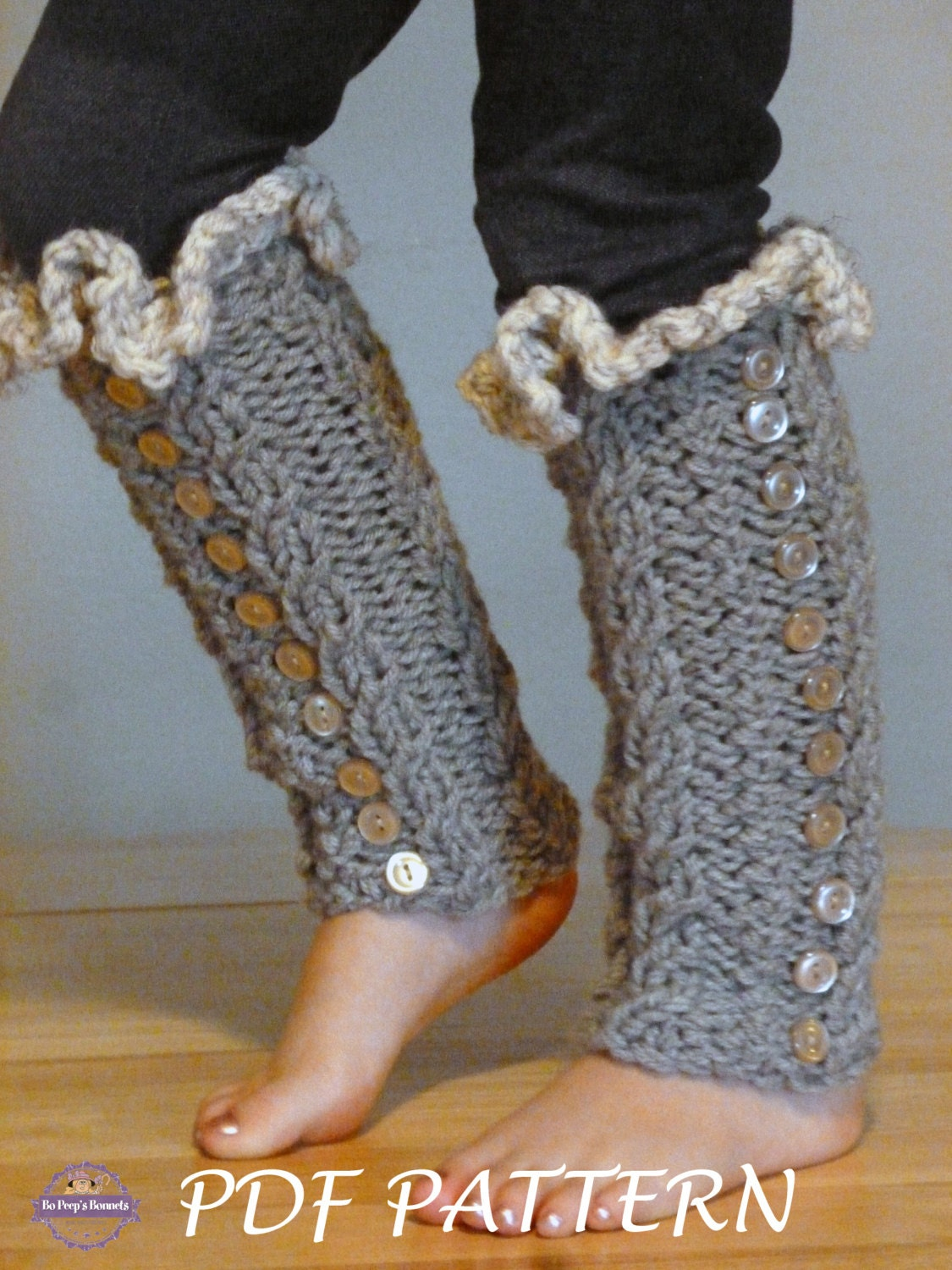 KNITTING PATTERN Toddler Leg Warmers, Leg Warmer Pattern, Leg Girls ...