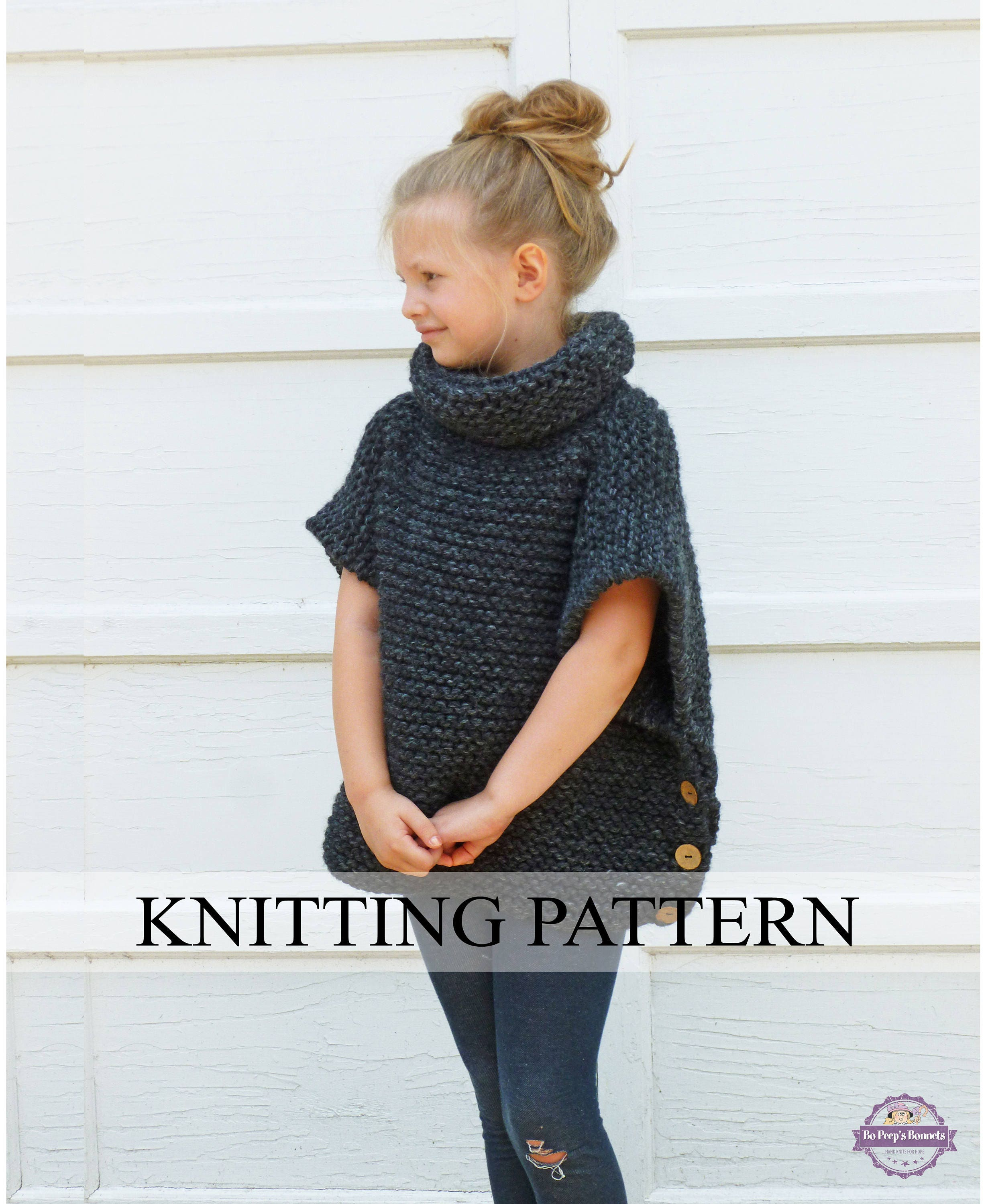 KNITTING PATTERN The Sophie Sweater (Toddler, Child, Adult Sizes ...