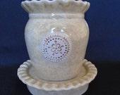Stoneware Wax Warmer Oil Diffuser