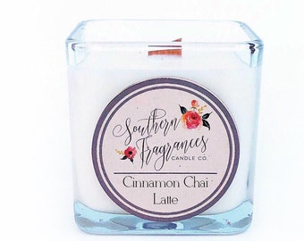 Cinnamon Chai Latte Soy Candle | Winter Collection