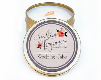 Wedding Cake Candle | 6oz Travel Size Soy Candle