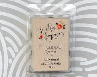 Pineapple Sage Soy Tart Melt