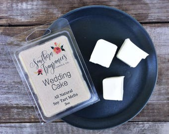 Wedding Cake Soy Tart Melt