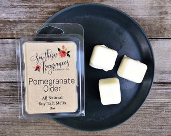 Pomegranate Cider Soy Tart Melt | Tart Melt | All Natural Soy | Eco Friendly | Home Decor | Tart Warmer Melt | Fall Fragrance