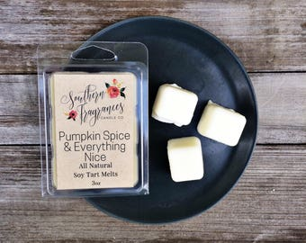 Pumpkin Spice & Everything Nice Soy Tart Melt | Tart Melt | All Natural Soy | Eco Friendly | Home Decor | Pumpkin | Fall Fragrance