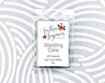 Wedding Cake Soy Tart Melt