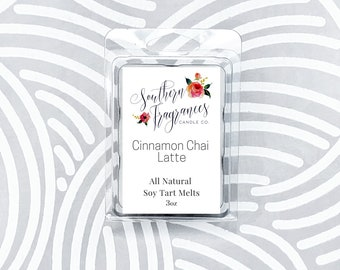 Cinnamon Chai Latte Soy Tart Melt
