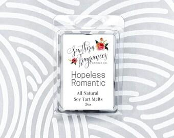 Hopeless Romantic Soy Tart Melt