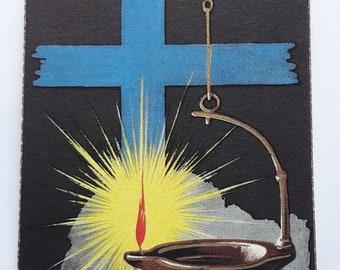 60s 70s Set of 7 Vintage Holy Cards - Communion Souvenir