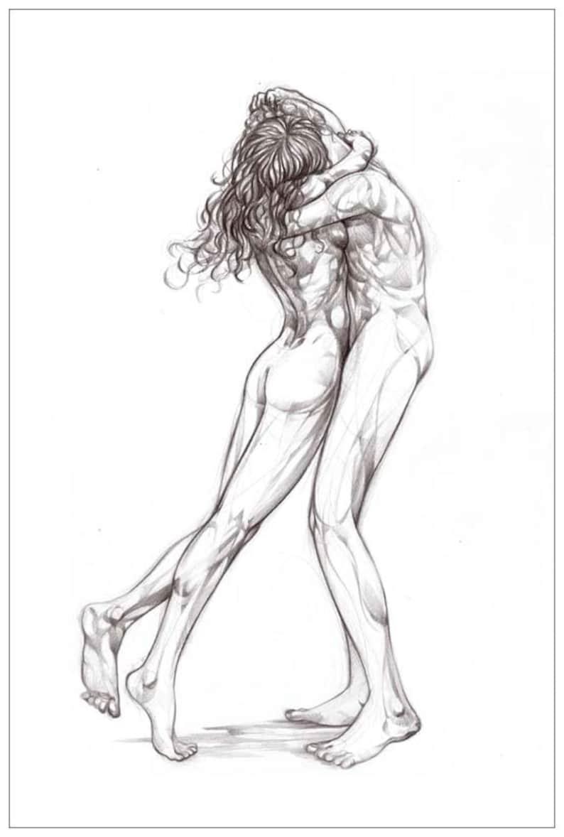 Nude Couple, Nude Art