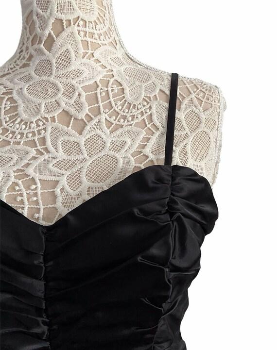 Gunne Sax Ruched Dress - image 3