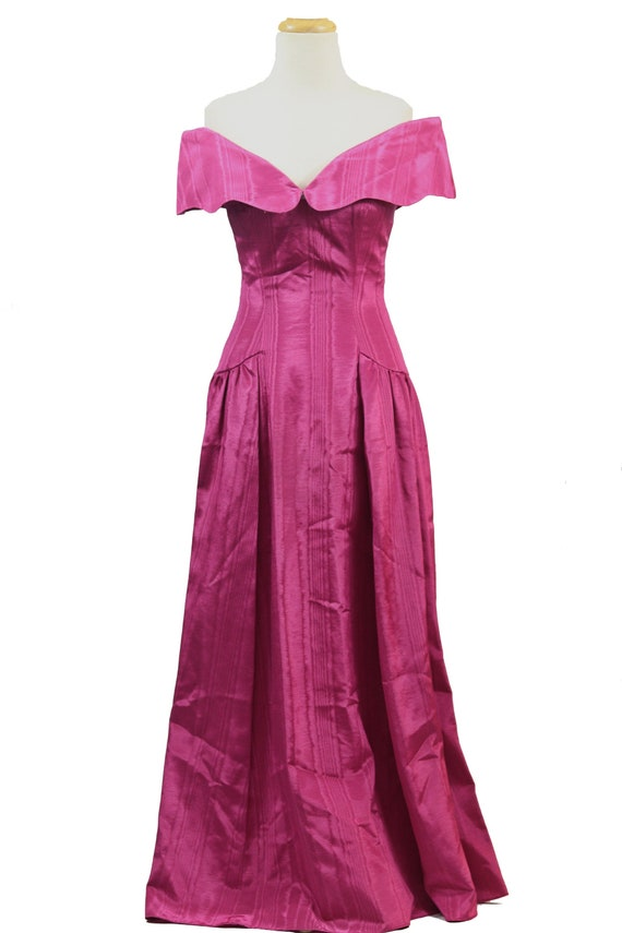 Pink Moire Gown by House of Bianchi
