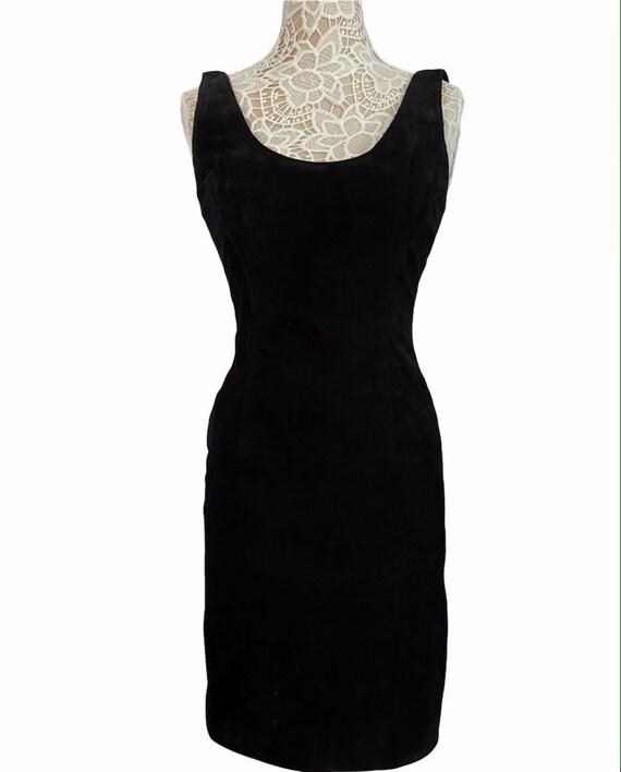 Suede Ann Taylor Tank Dress