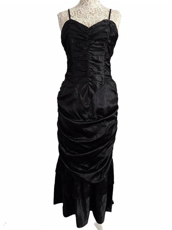 Gunne Sax Ruched Dress - image 1