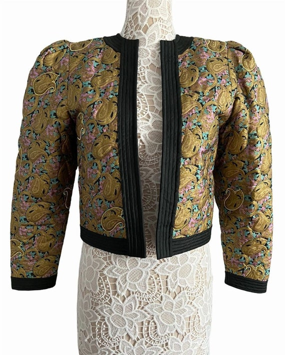 Thai Silk Quilted Coat
