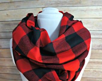 876b21216c6 Buffalo plaid scarf | Etsy