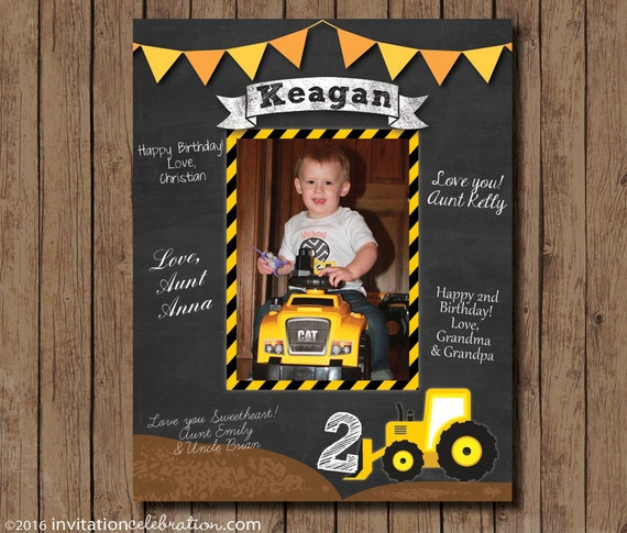 First Birthday Guest Book Red and Yellow Wishes PRINTABLE Digital Mickey Mouse Chalkboard Birthday Signature Mat