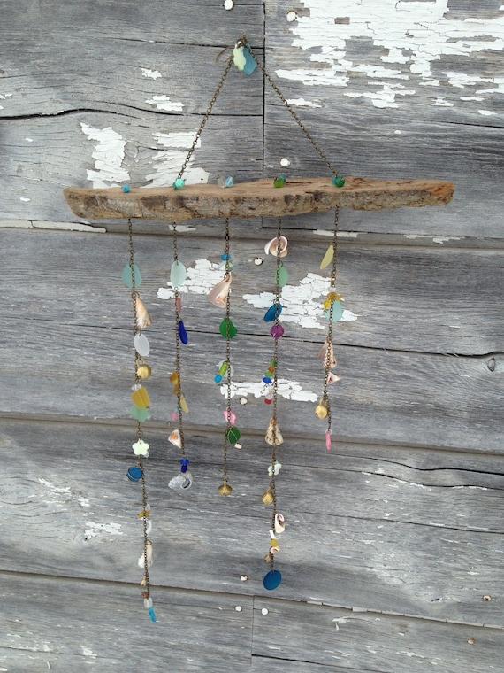 Flathead driftwood wind chim or wall hanging