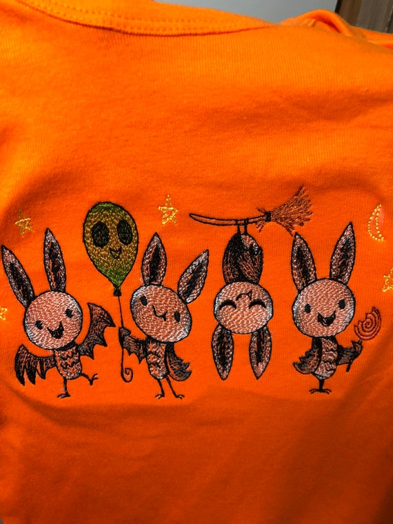 Halloween t-shirts and onsies