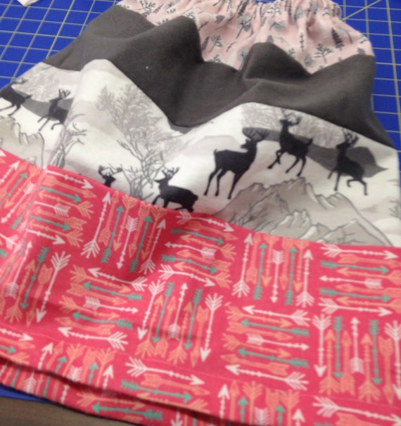 Girls flannel and demin skirt with llams and lace. Scrap skirt