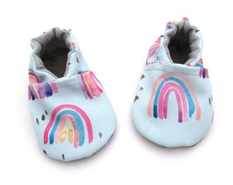 Handmade vegan baby shoes that never fall off by Cabooties on Etsy 63576b1778de