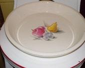 vintage knowles pie plate