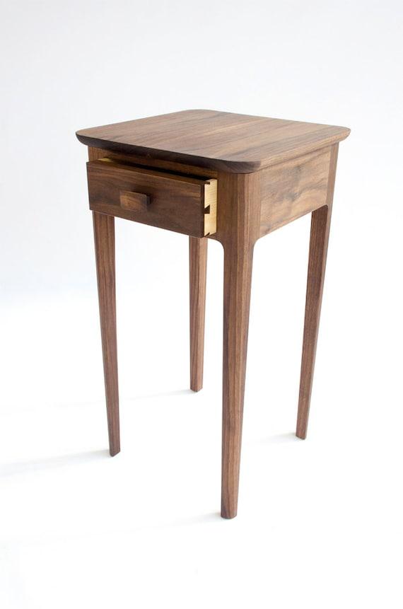 Petite Table De Chevet N 1 Moderne Bois Nuit Stand Noyer Erable Cerise Acajou Petit Chevet Table D Appoint Danois Moderne