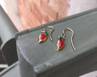 Earrings DROP FALL/Art Decó.