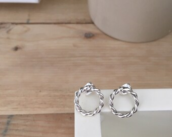 Earrings/Sterling silver