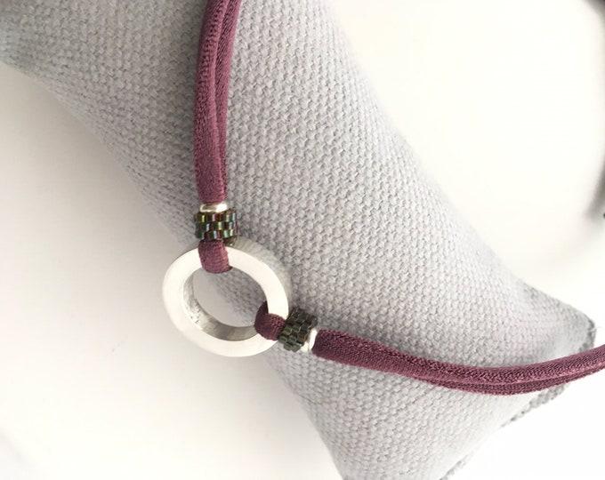 Necklace RONDANA Delica/ Sterling silver /choker