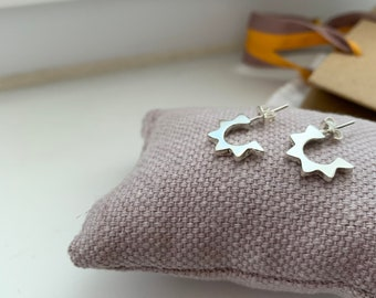 Earrings SOLE/ Sterling silver/ gift for daughter/Mexican silver.