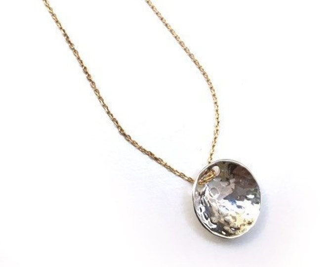 TERRA Martelé Pendant Necklace