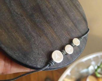 Pulsera Plata Cordón/BORN Mini