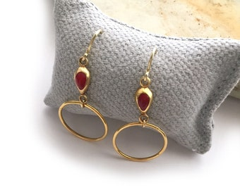 Earrings/Vermeil