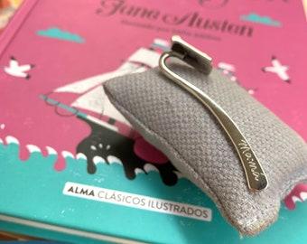 Scapular Bookmark/Sterling silver.