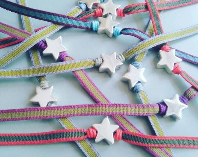 Bracelet for girls/Sterling silver Little Star.