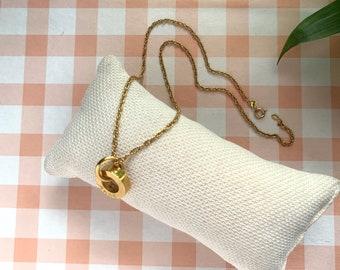 RONDANA Eternity Vermeil Necklace/ personalized.