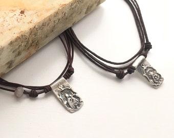 Set of Scapulars /Valentine's gift /Catholic jewelry